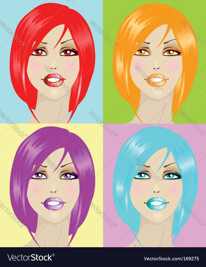 Poster on Pop Art Poster Vector 169275 By Saranai   Royalty Free Vector Art