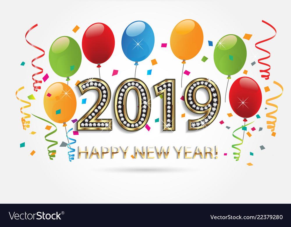 Happy New Year Balloons 35