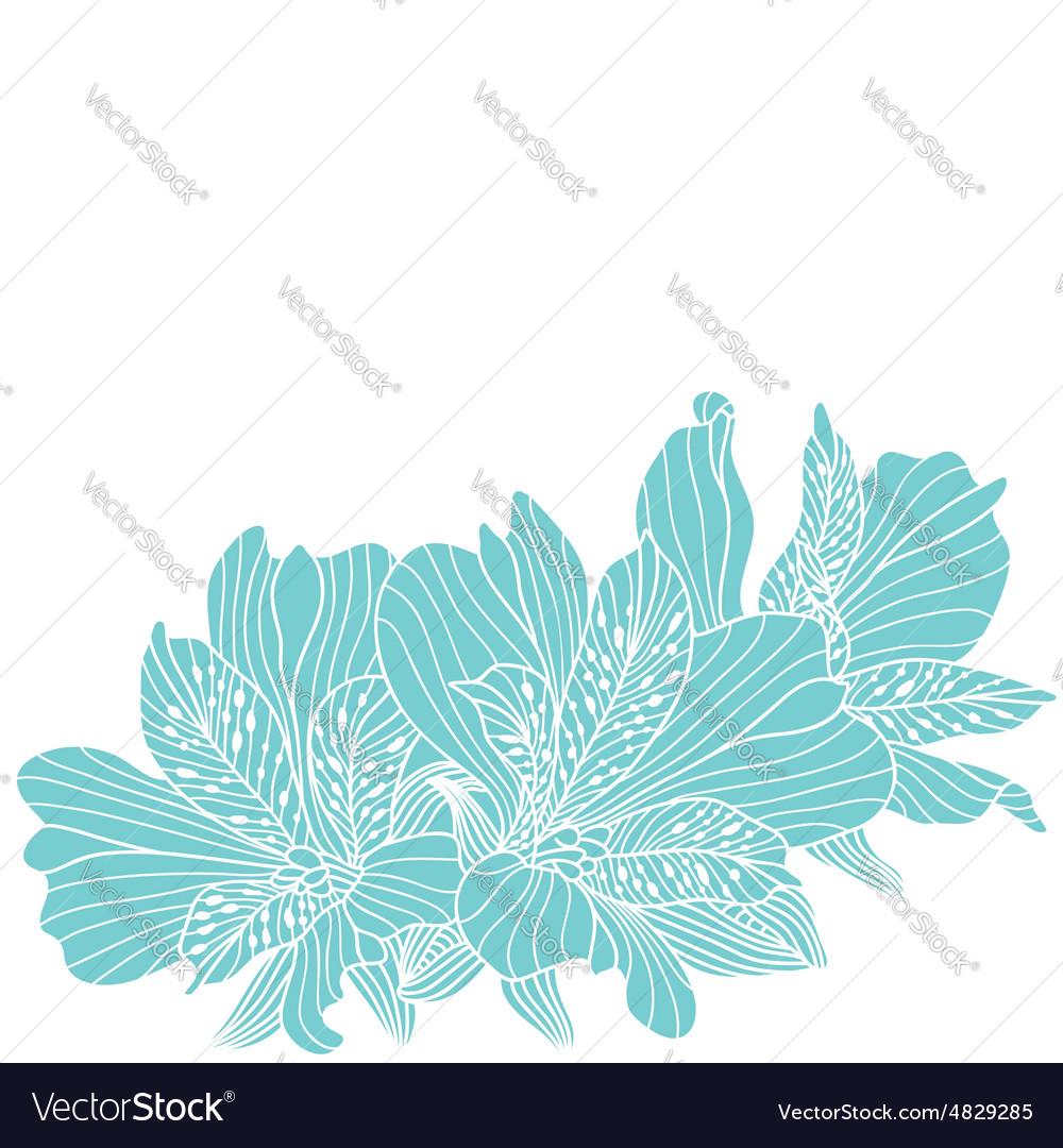 Blue alstroemeria flowers drawing royalty free vector image blue alstroemeria flowers drawing vector image izmirmasajfo