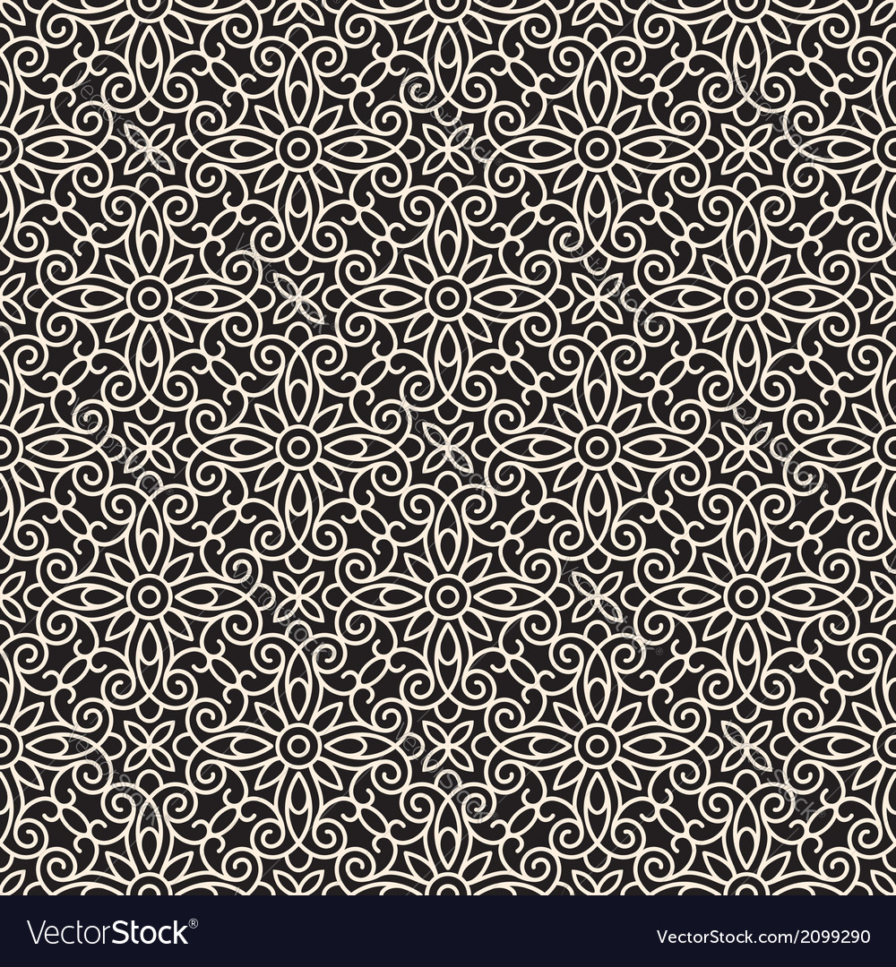 Abstract lacy pattern vector image