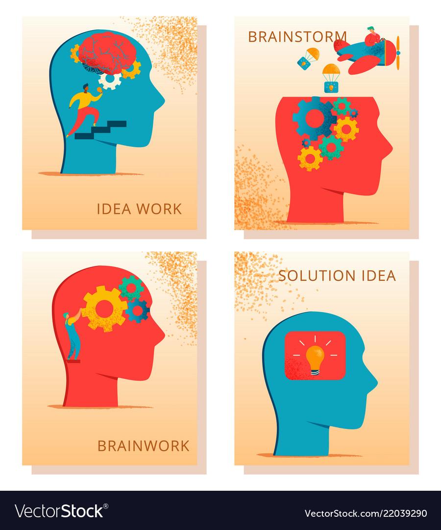 Neurology character cards set