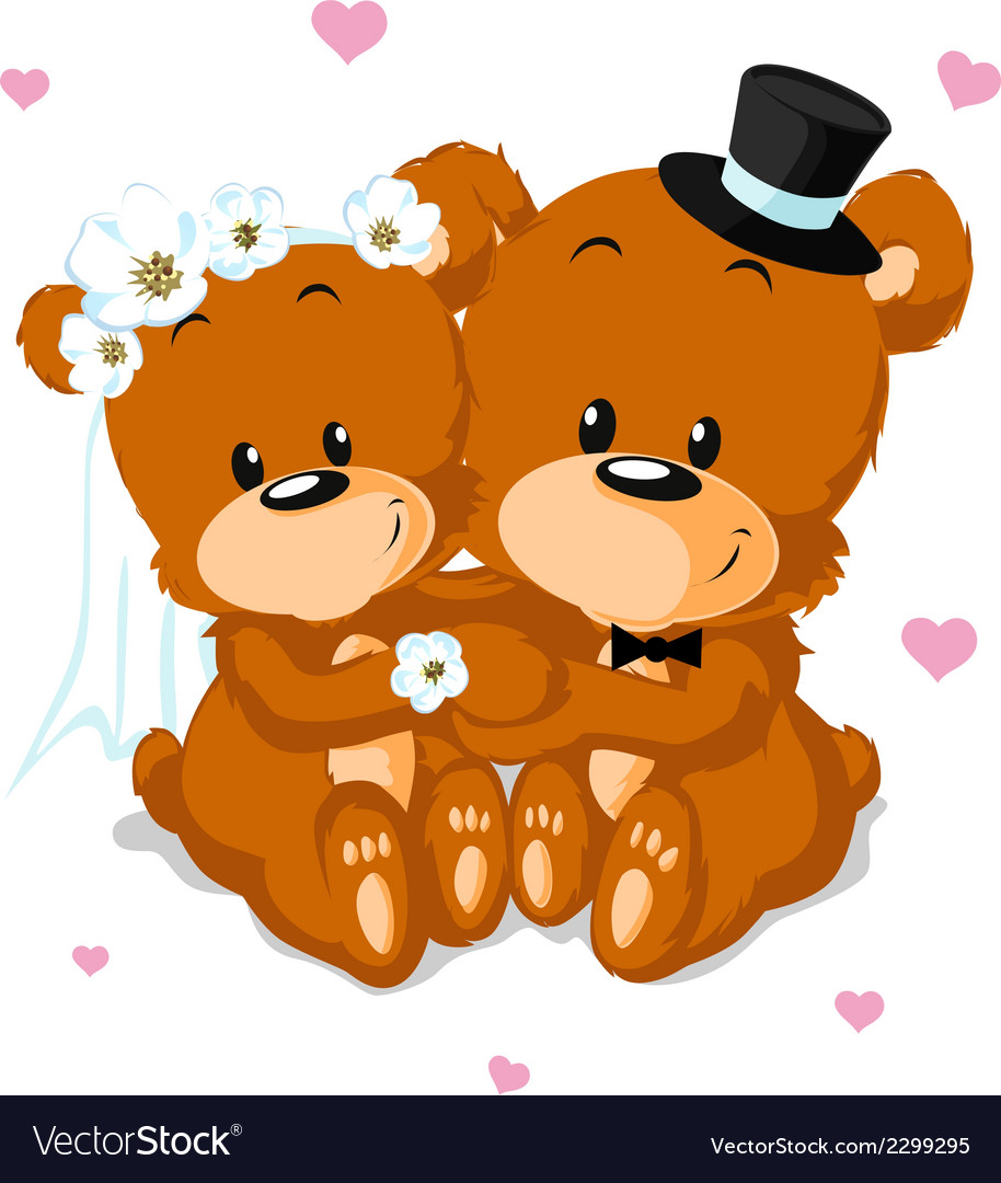Bear wedding