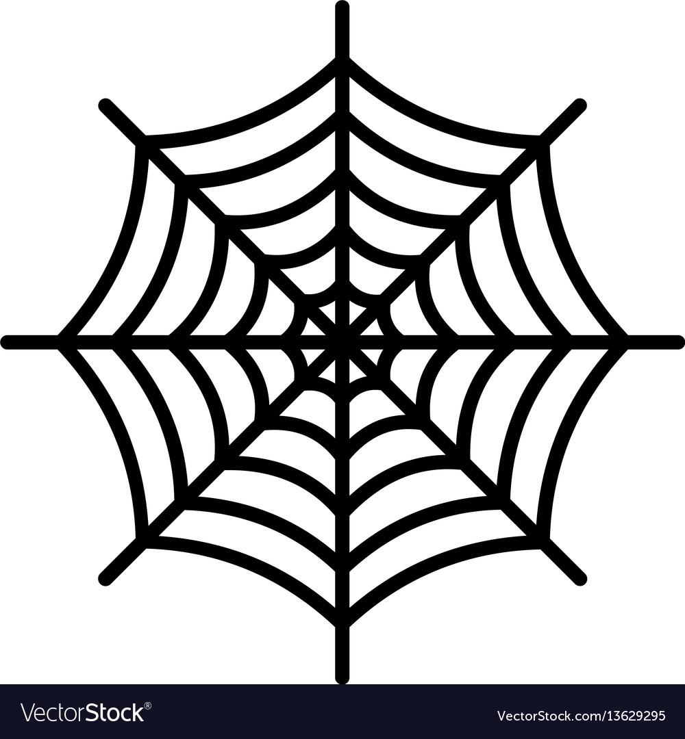 The spiderweb icon