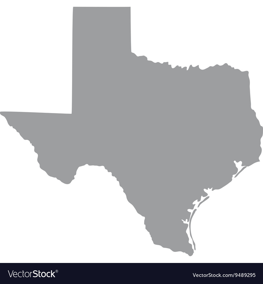 us state of texas royalty free vector image vectorstock