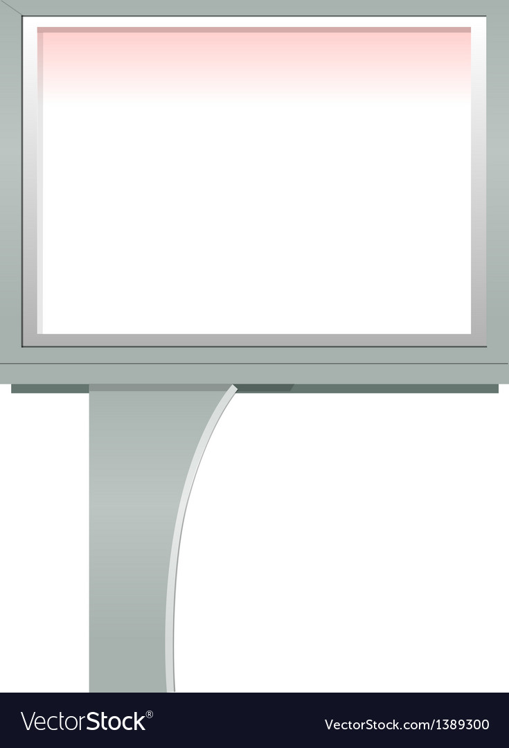 Icon board vector image