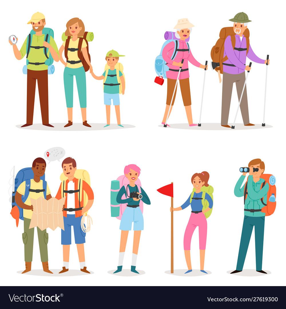 Tourist traveling people tripper traveler