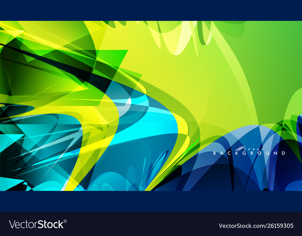 Abstract Background Color Watercolor Mix Color