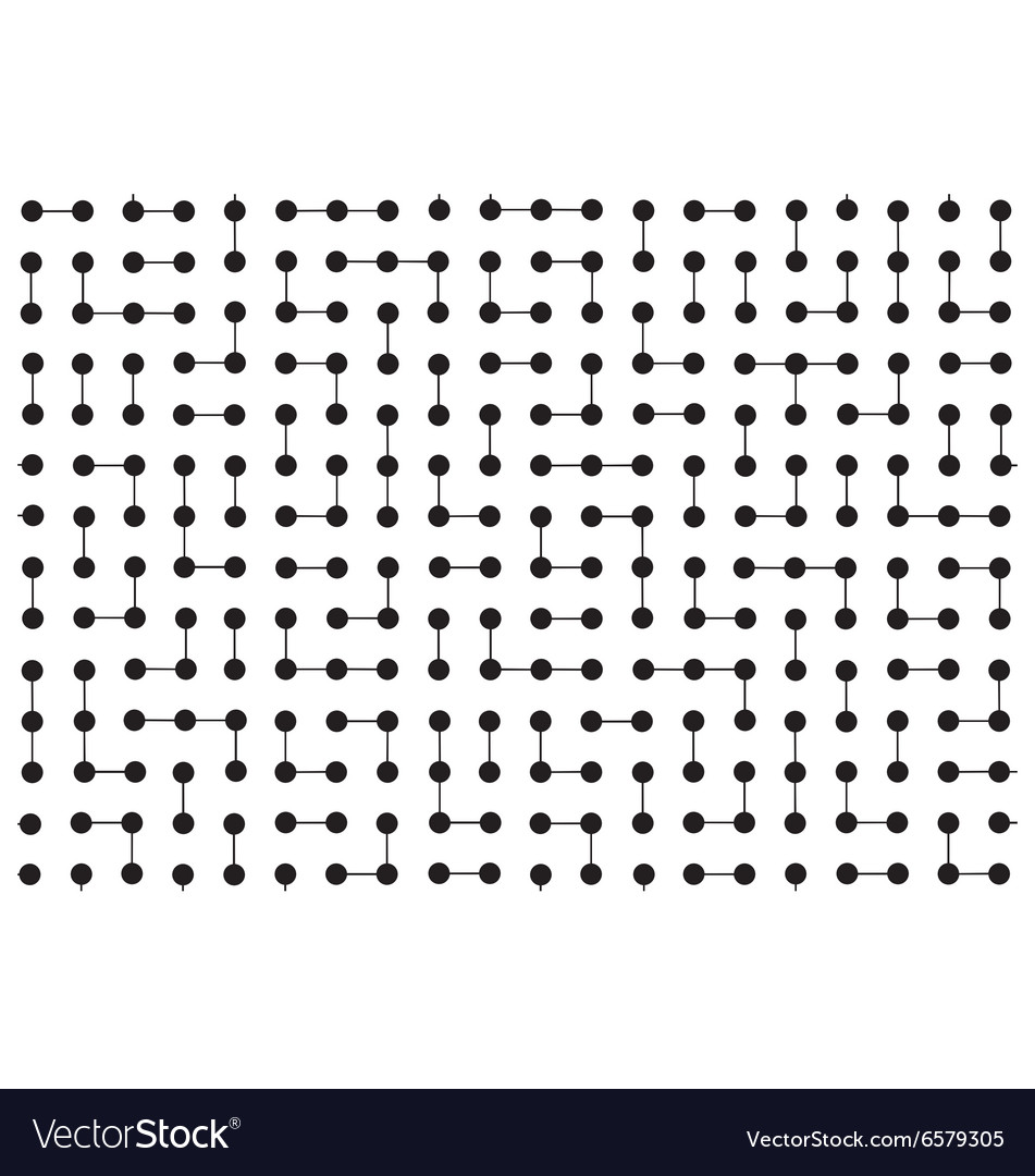 Circuit board wallpaper vector image