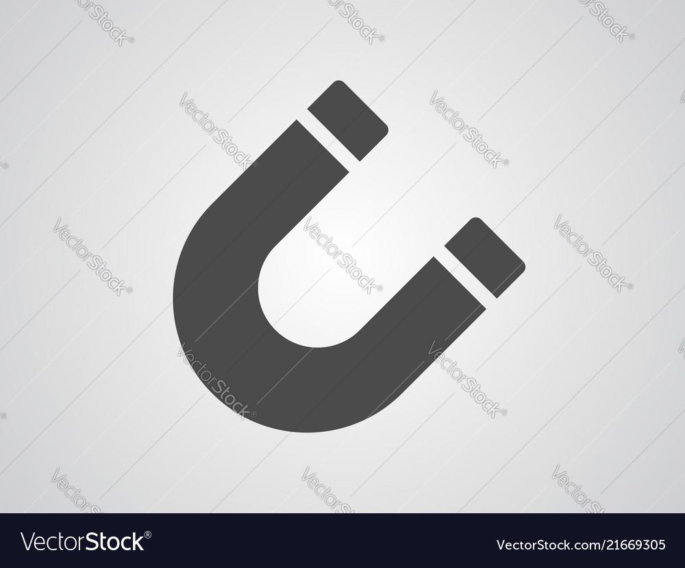 Magnet icon sign symbol
