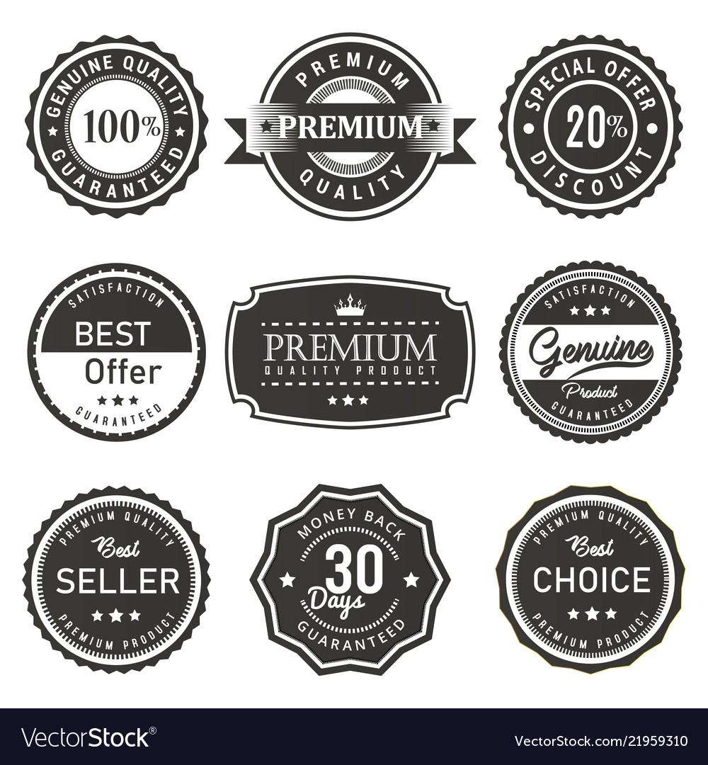 Seal and labels premium quality prouct