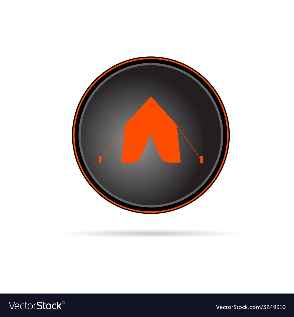 Tent on button