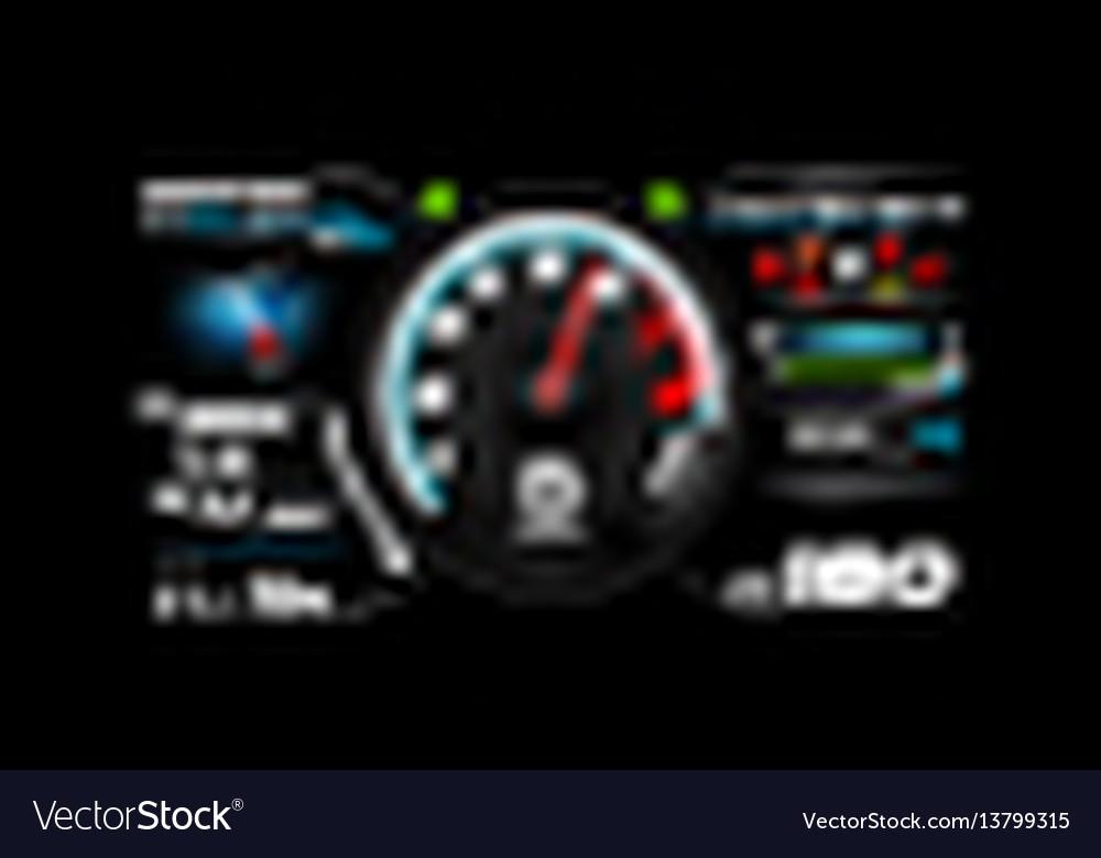 Car dash board eps 10 002
