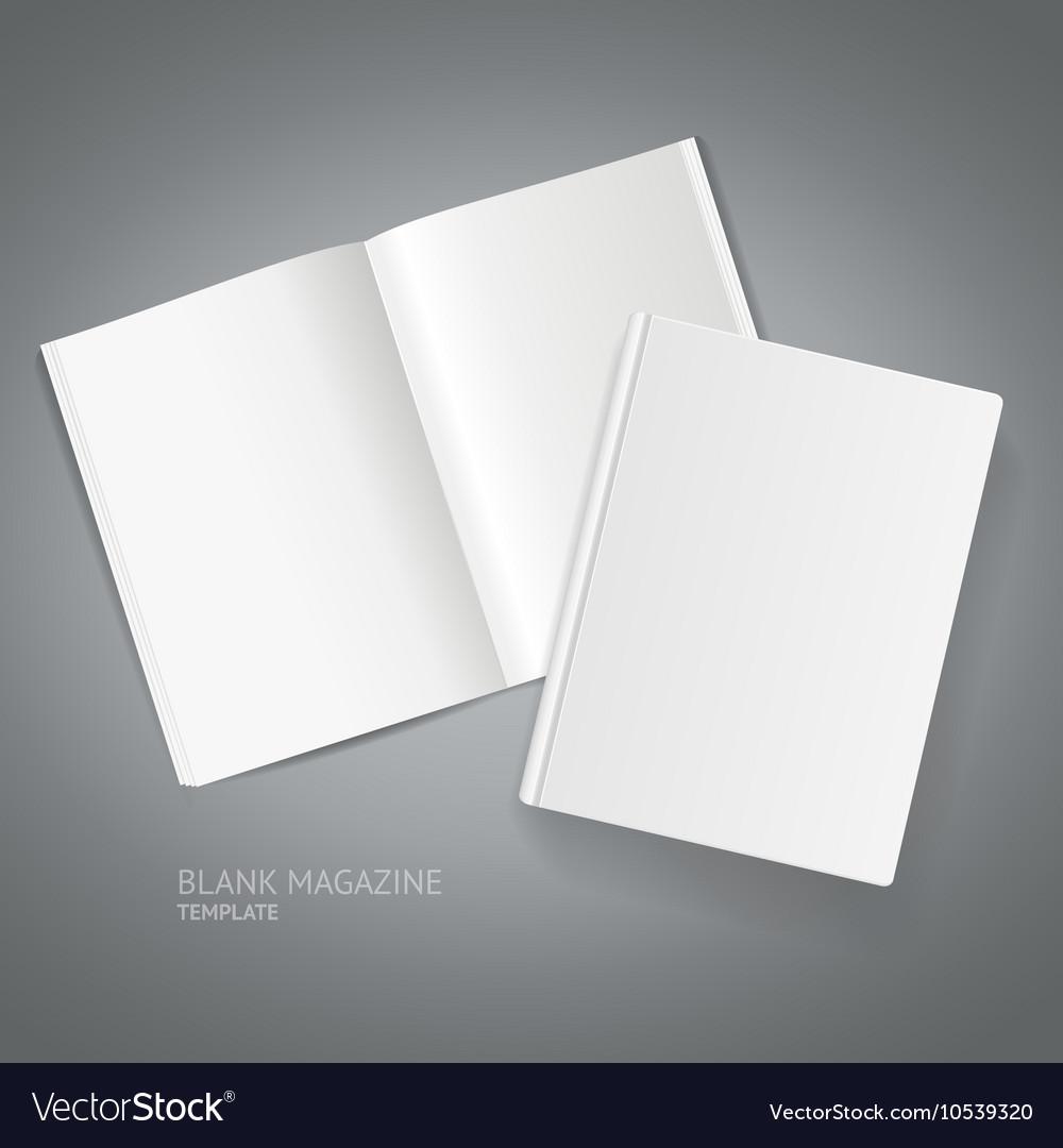 Book Magazine Template vector image