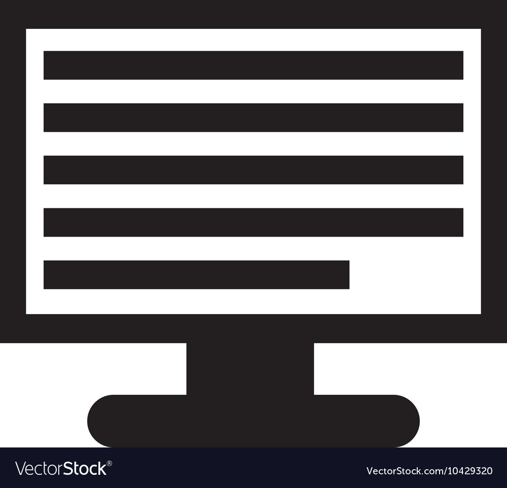 Computer Document Icon