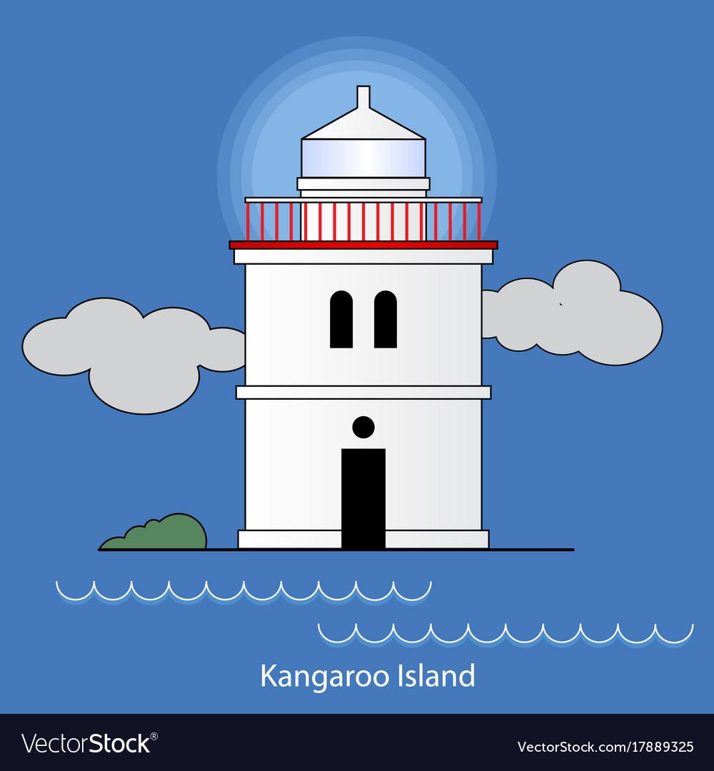 Kangaroo island - australia lighthouse