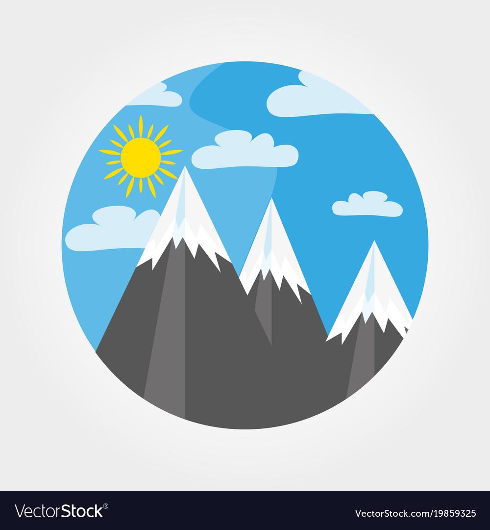 Mountains under the sun