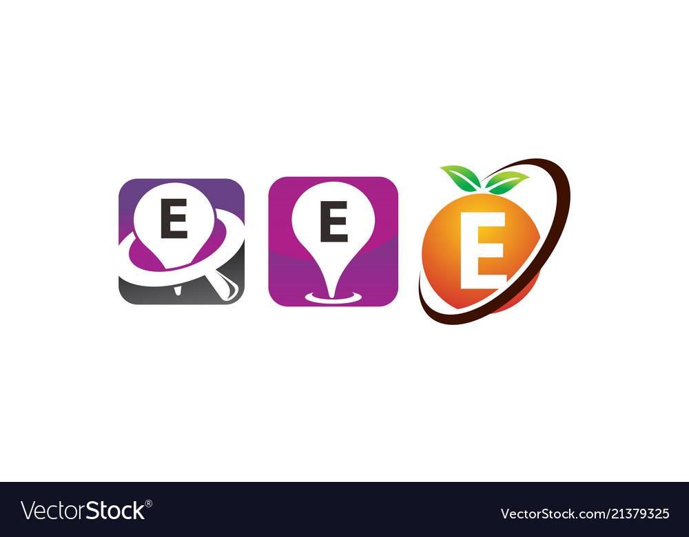 Pin location fruit e template set