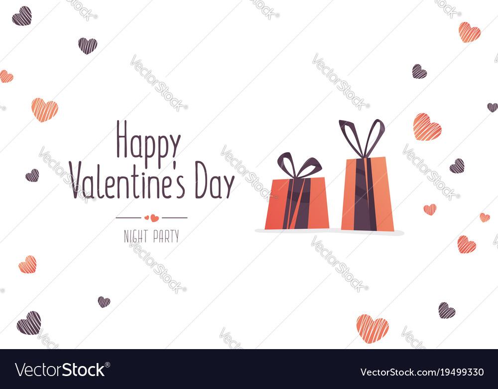 Big sale of valentines day vector image