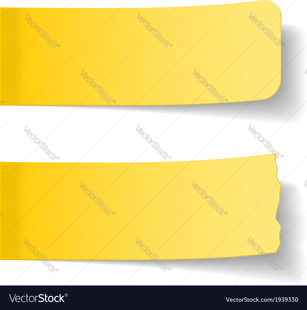 Sticky Papers vector image