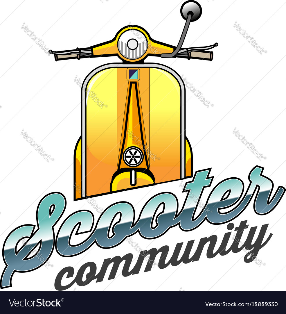 Vespa or scooter community
