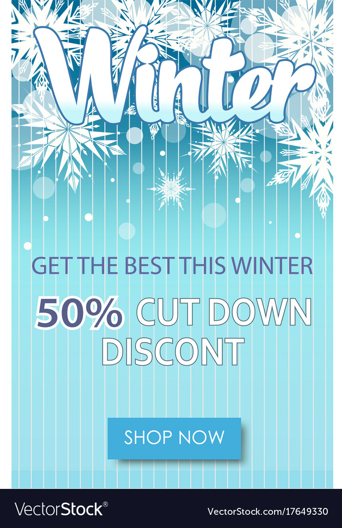 Winter Sale Banners Cars 3 Banners