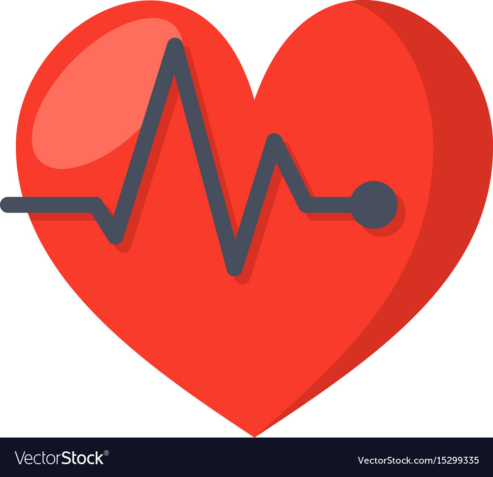 Ecg or electrocardiography icon