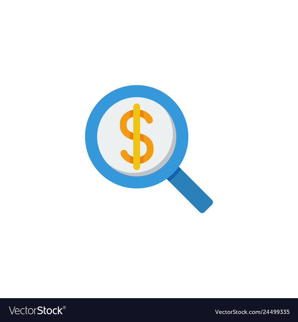 Search money icon