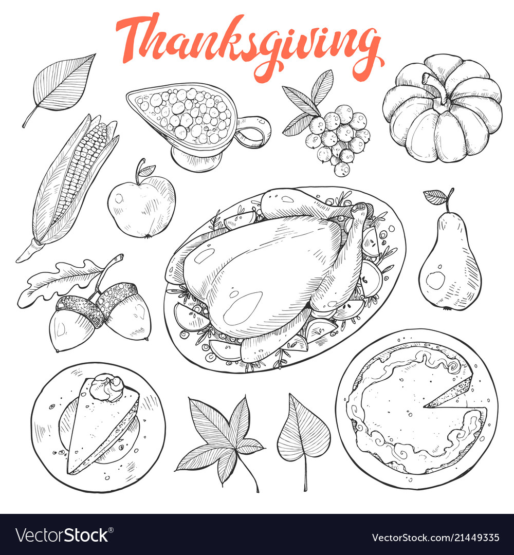 Thanksgiving sketches