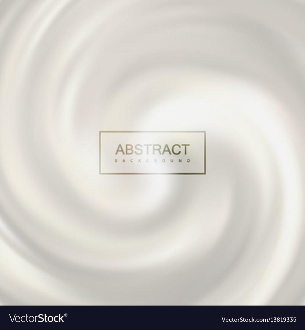 White swirling milk whirlpool