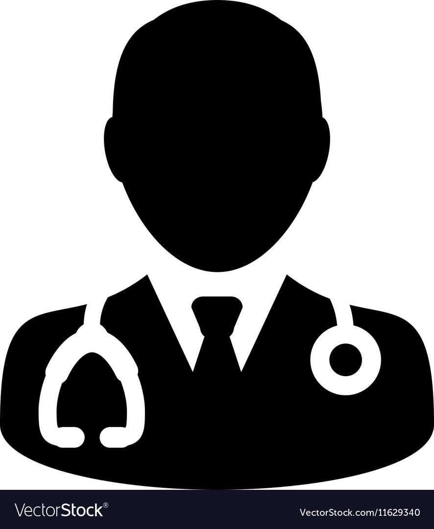 Doctor Physician Stethoscope Medical Icon