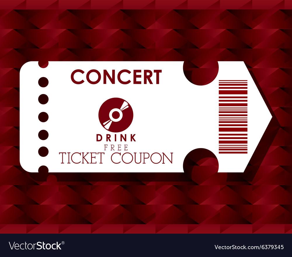 Cinema tickets design