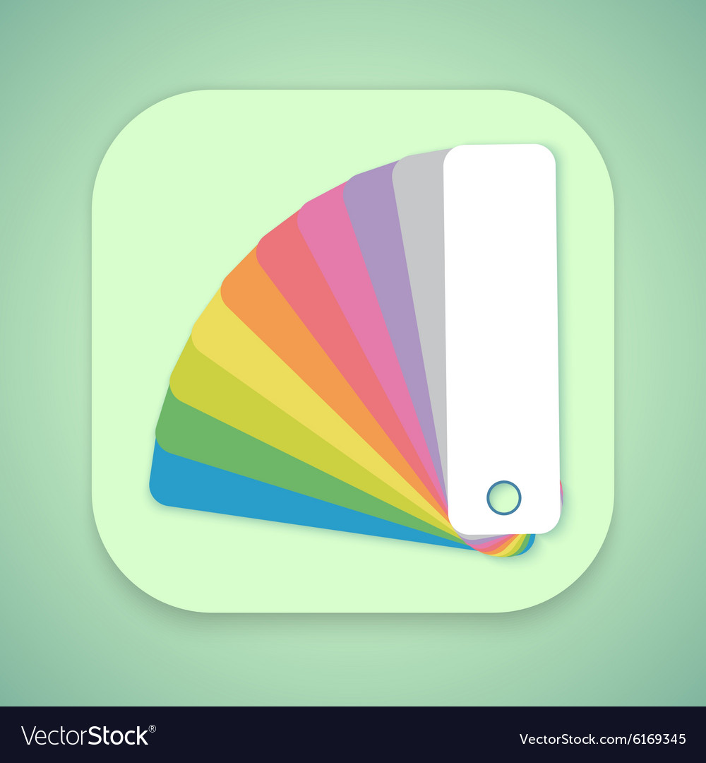 Design Color Guide Fan Flat Mobile OS