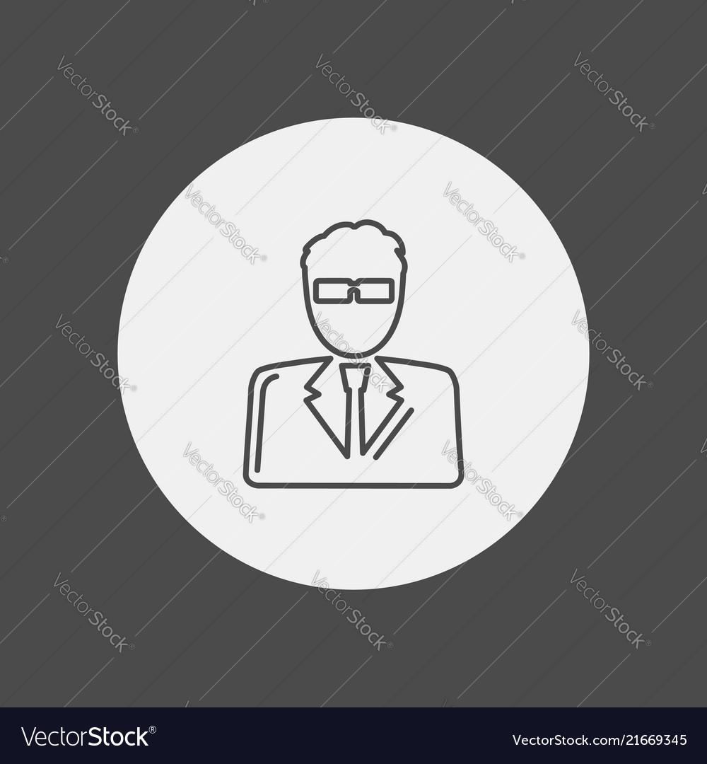 Man icon sign symbol