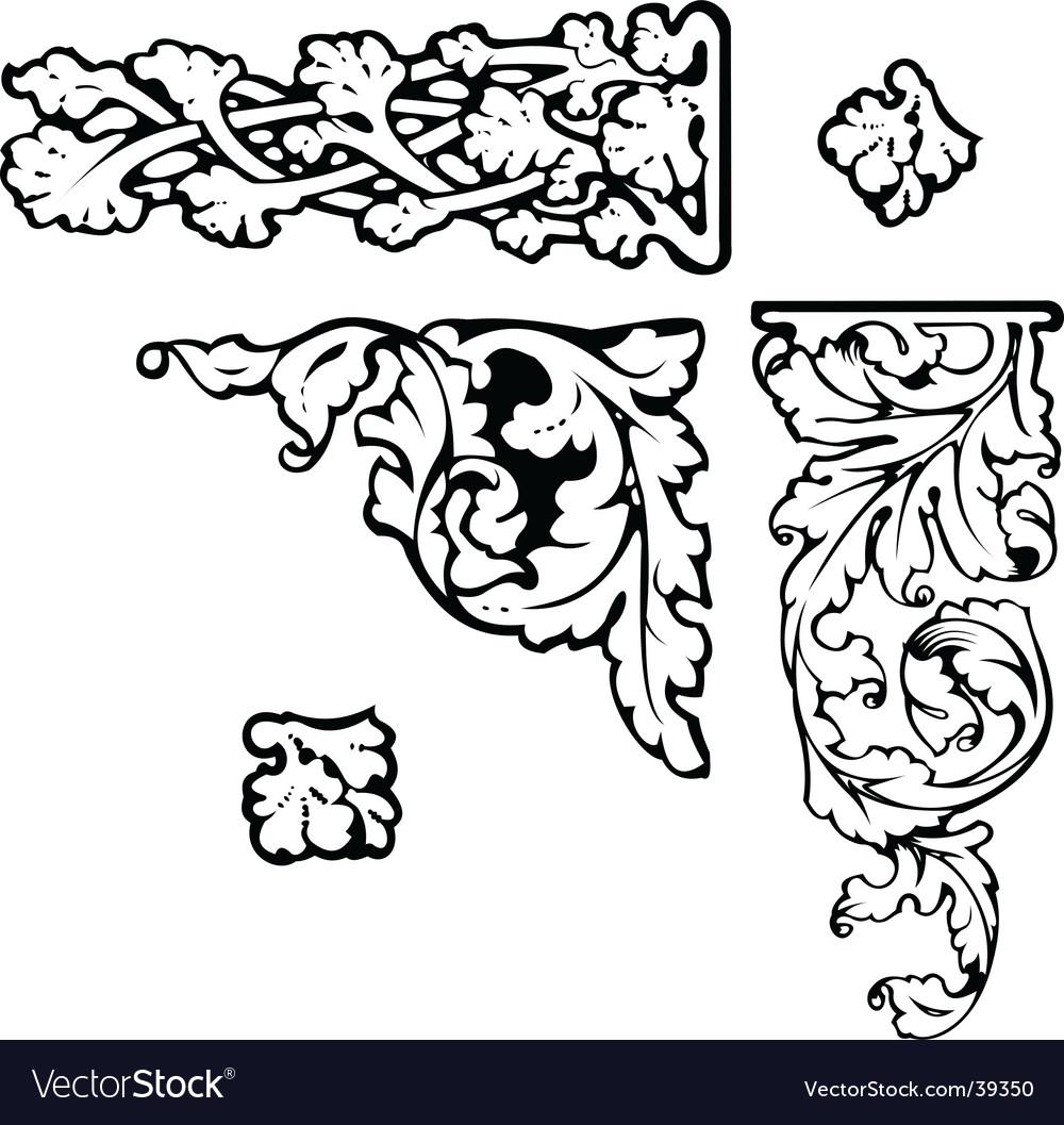 Baroque clip-art