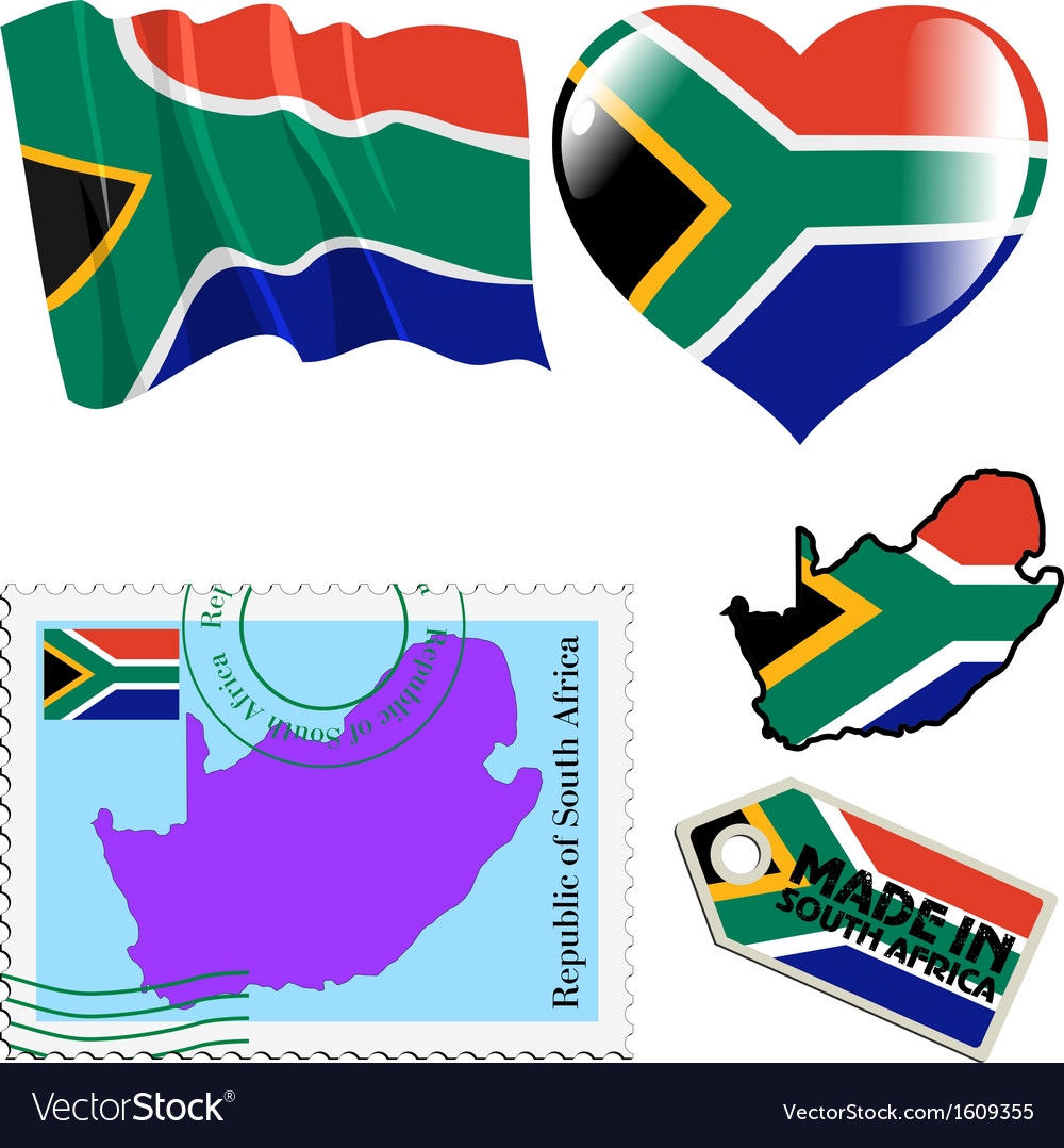 National colours of South Africa