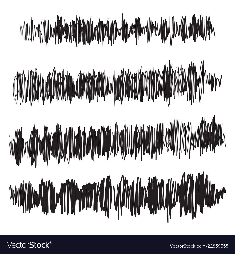 Sound waves set audio player audio