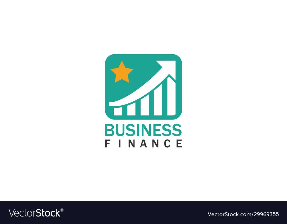 Trade star business finance logo
