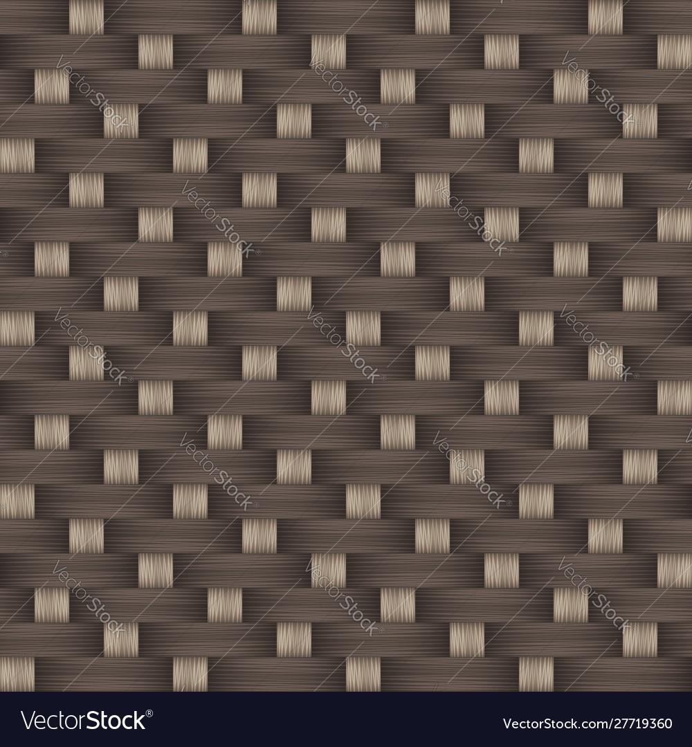 Decorative weave sateen seamless pattern