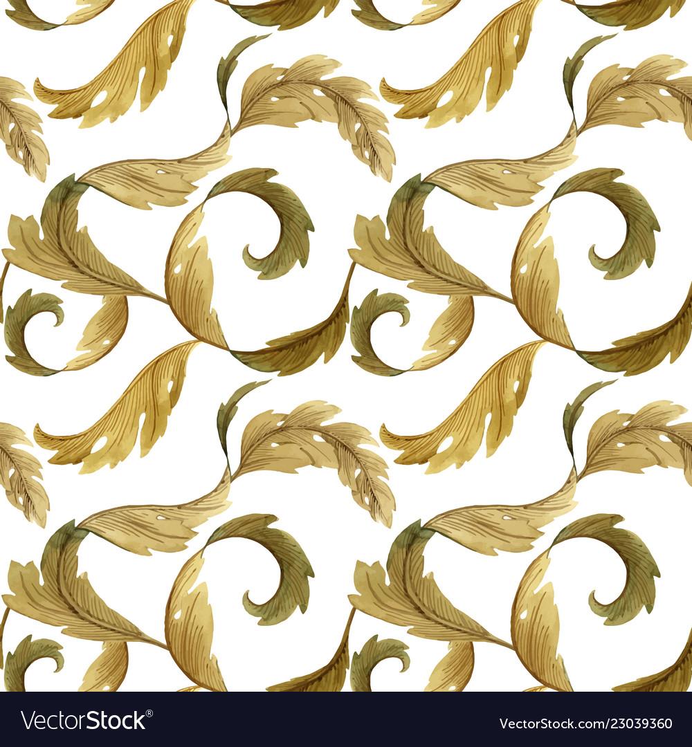 Modern Art Nouveau Tiffany Pattern Royalty Free Vector Image