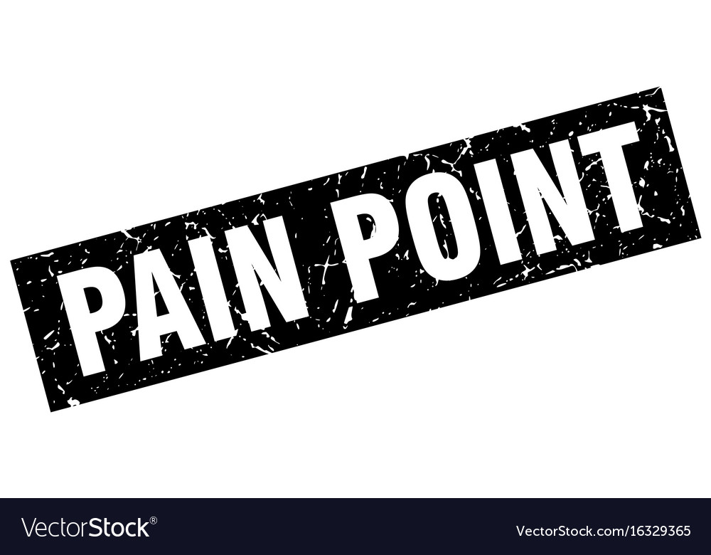 Square grunge black pain point stamp vector image