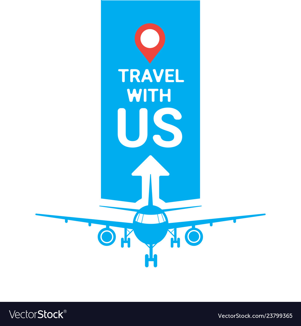 Travel with us template travel agency poster or