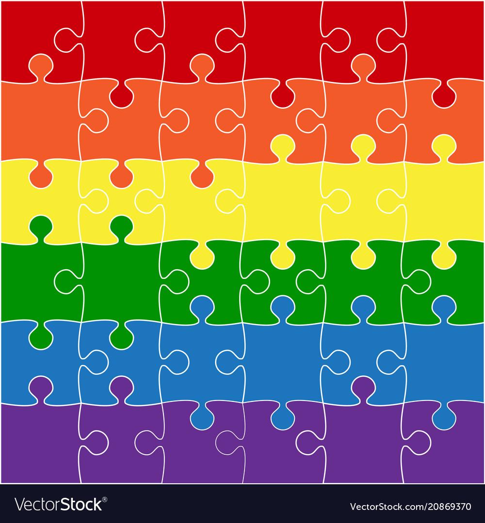 Lgbt flag lgbt puzzle symbol pride lgbt