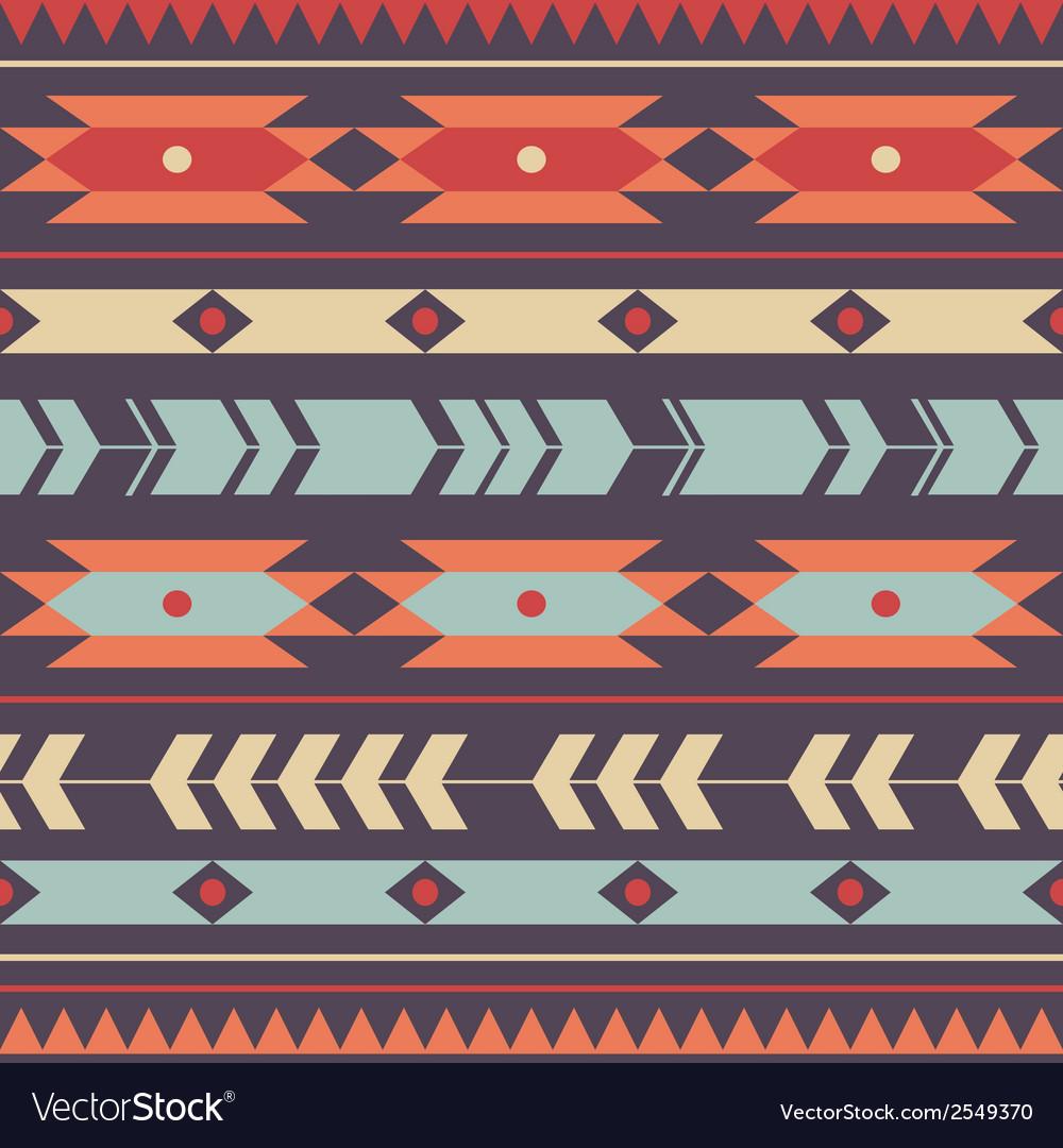 Seamless colorful decorative ethnic pattern