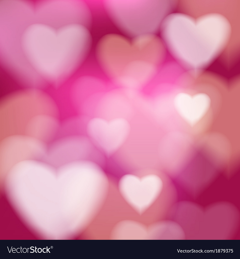 Abstract disco background valentine heart