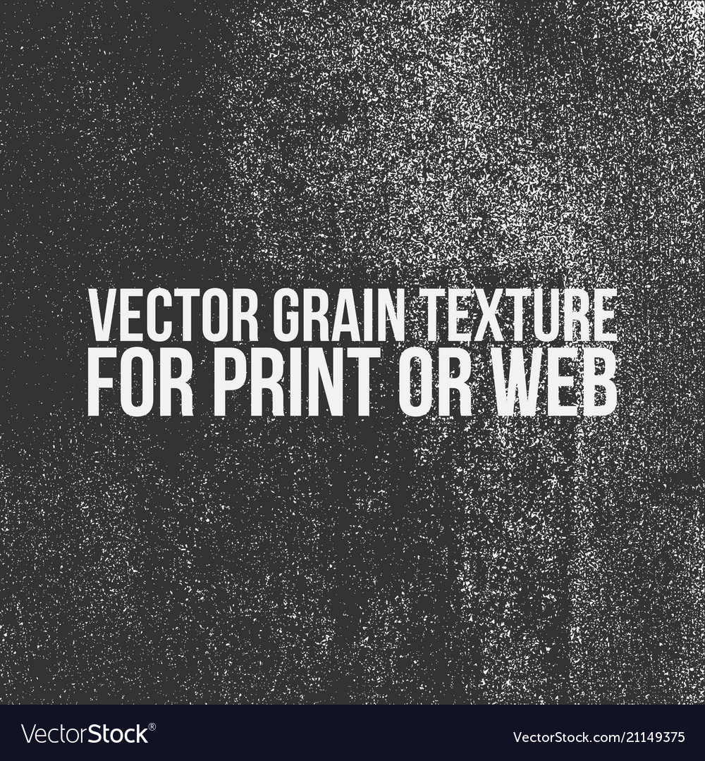 Grain texture for print or web