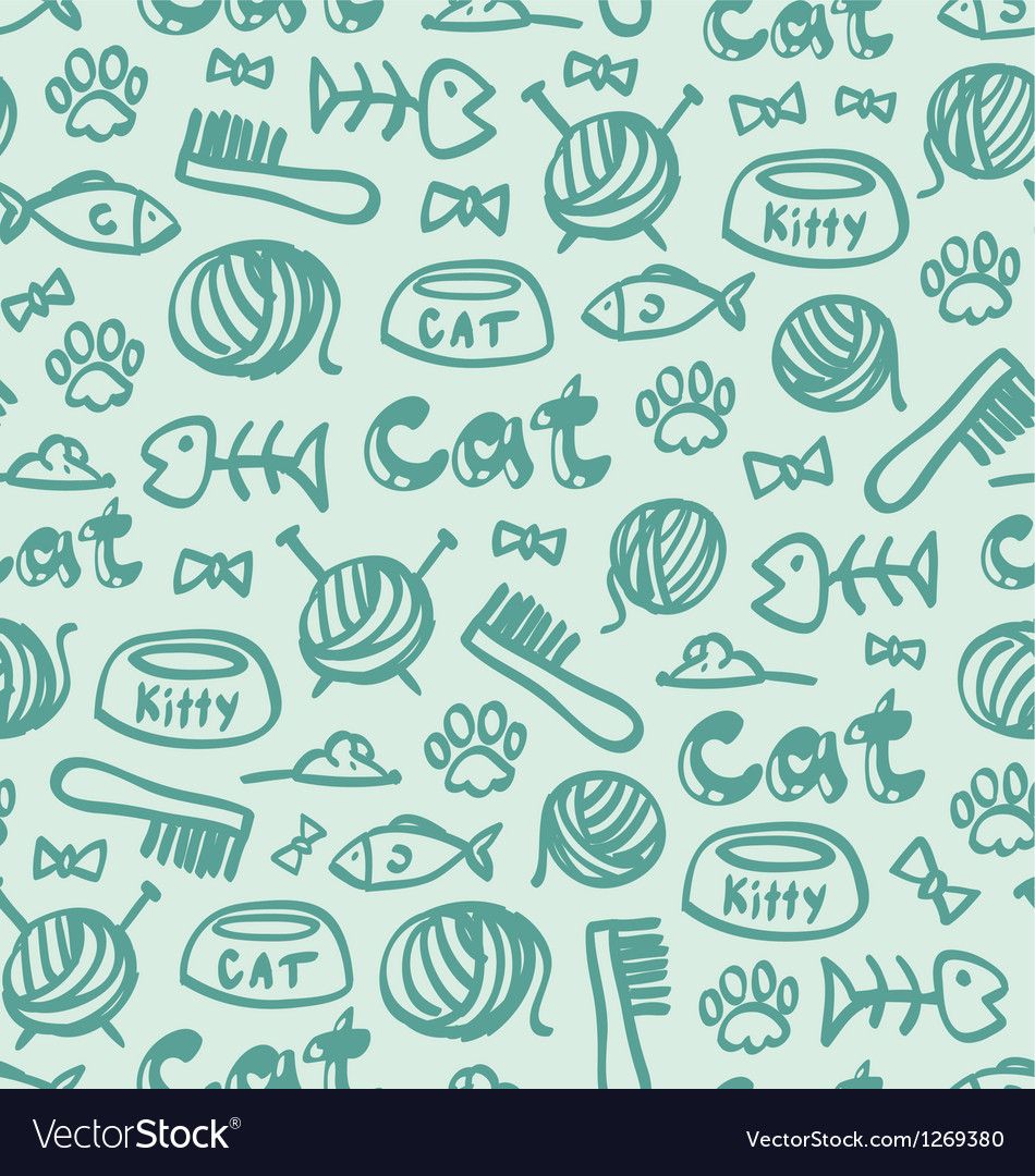 Cat stuff pattern