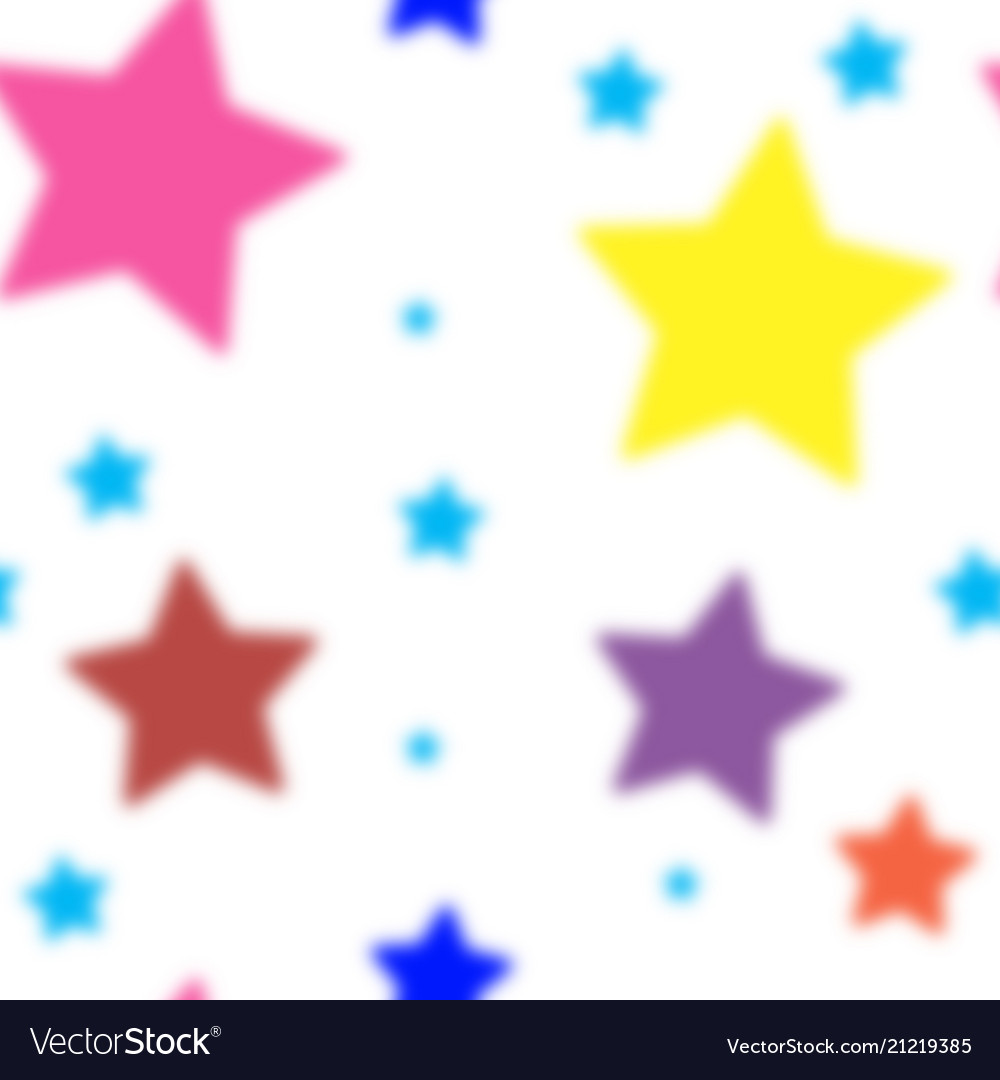 Stars seamless pattern the image starry