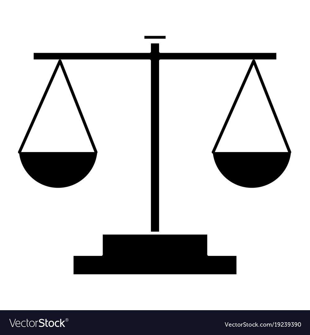 Balance Justice balance justice symbol royalty free vector image