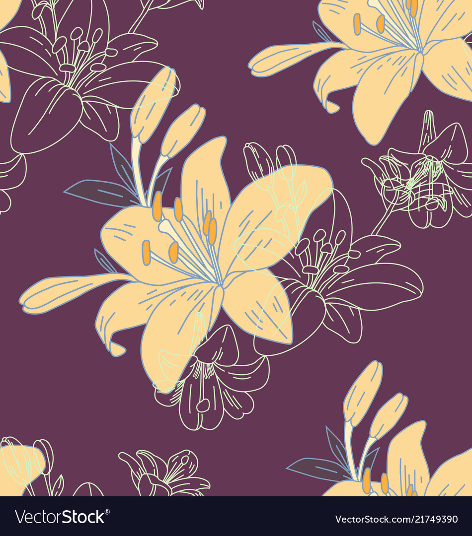 Floral seamless pattern2