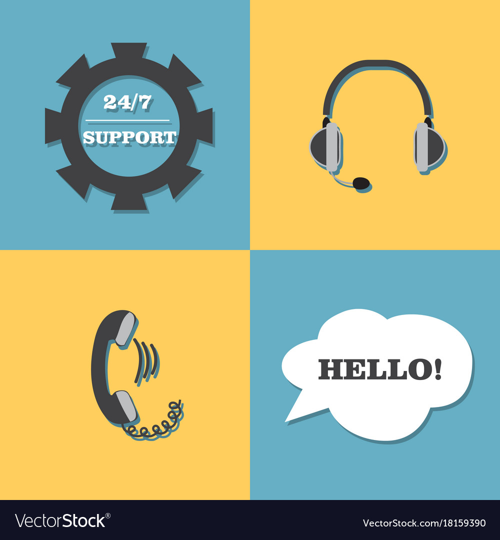 Support call center set